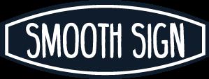 Smooth sign logo